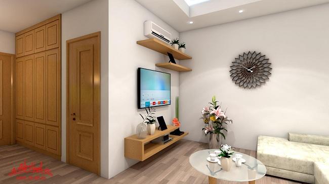 nội thất căn hộ chung cư nhỏ 3