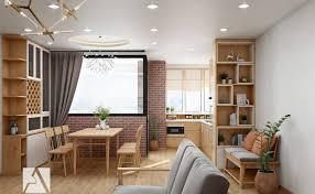 nội thất căn hộ chung cư nhỏ 7