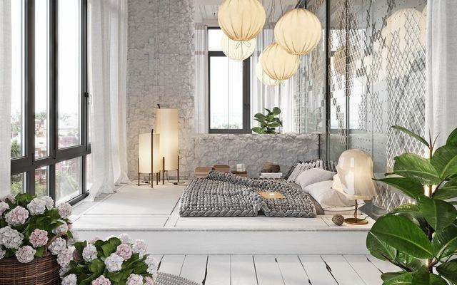 trang trí phòng ngủ  1