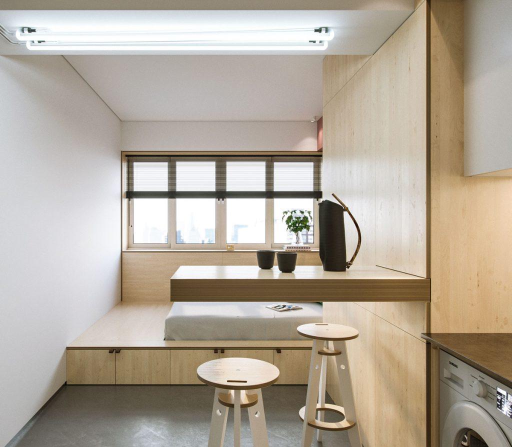 nội thất cho nhà nhỏ hẹp 3